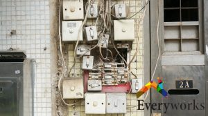 damaged-wires-electrical-switches-services-everyworks-electrician-singapore