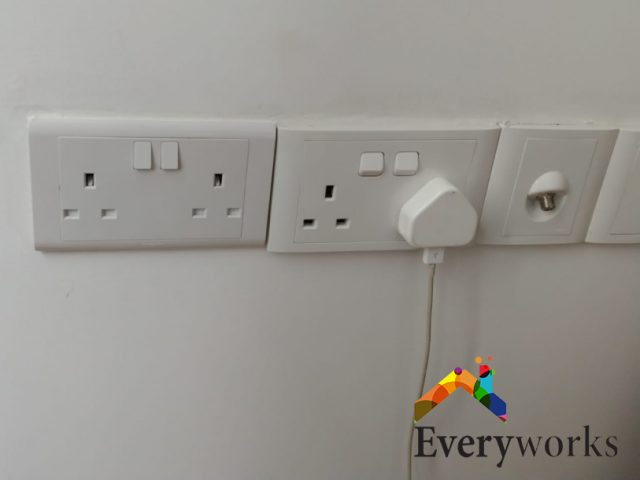 Power Socket Replacement Electrician Singapore Condo – Clementi