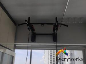 pull-up-bar-installation-wall-mounting-installation- handyman-singapore-hdb-clementi-1