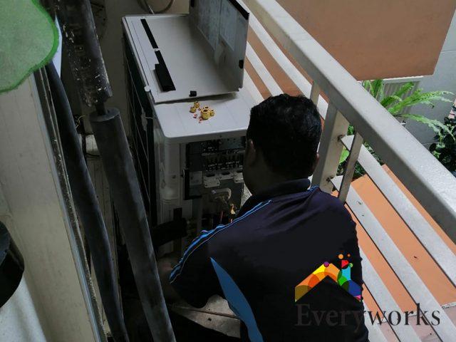 Aircon Installation Aircon Servicing Singapore Condo – Pasir Ris
