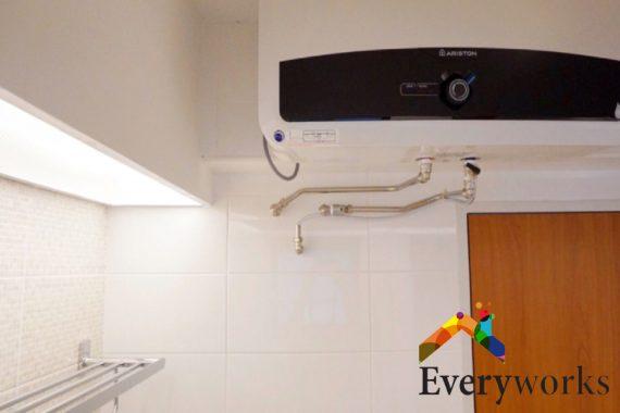 installed-heater-proper-water-heater-installation-everyworks-plumber-singapore