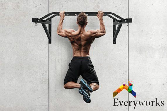 man-doing-pull-up-types-of-bar-pull-up-bar-everyworks-handyman-singapore