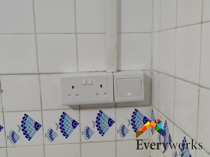 Power Socket Replacement Electrician Singapore HDB – Tampines