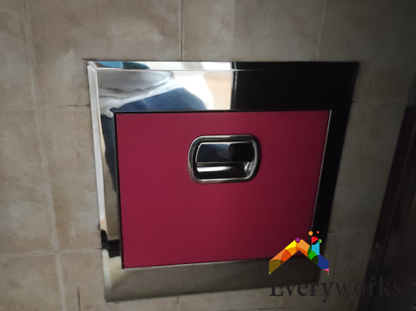Rubbish Chute Replacement Services Handyman Singapore HDB – Bedok