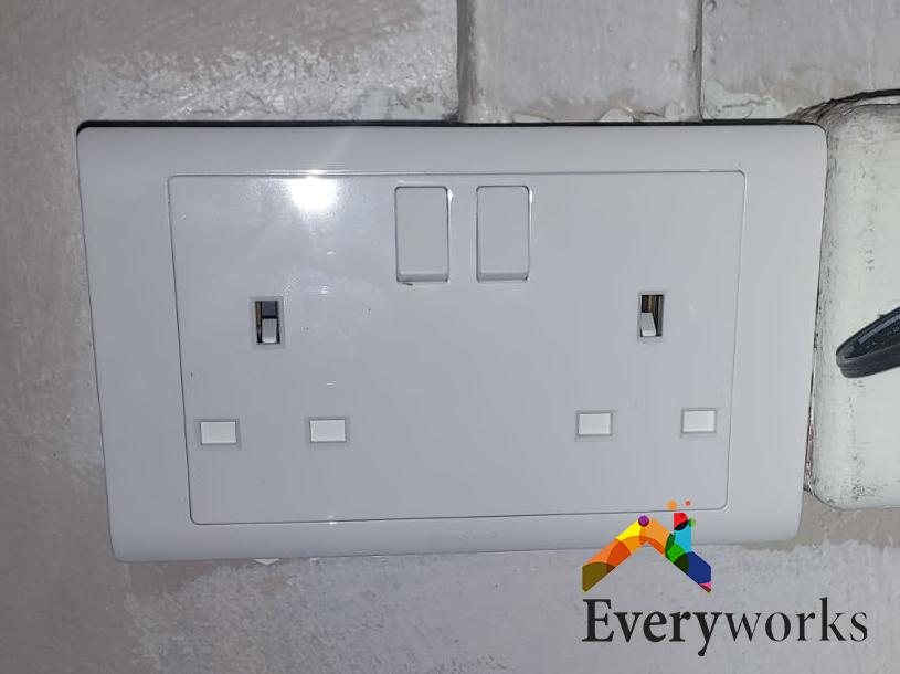 Power Socket Replacement Electrician Singapore HDB – Rochor