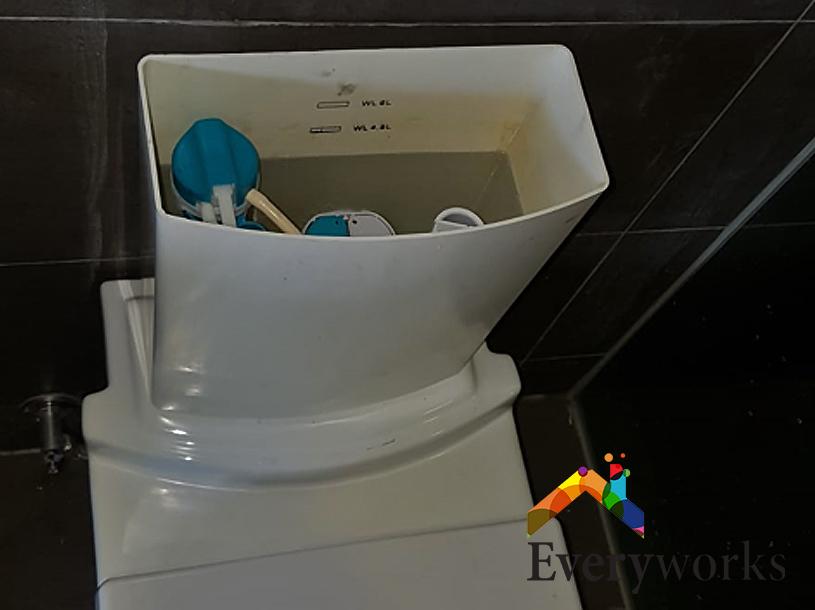 Flush System Replacement Plumber Singapore Condo – Katong